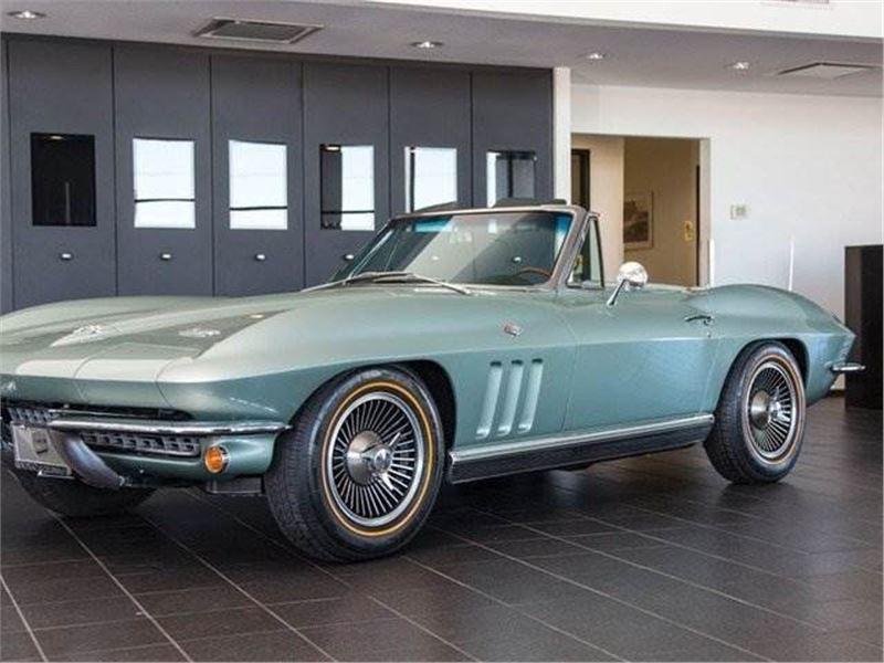 1966 Chevrolet Corvette Stingray Convertible For Sale | GC