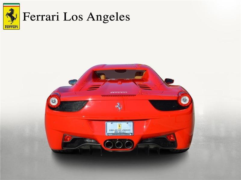 2015 ferrari 458 spider for sale in for sale on gocars. Black Bedroom Furniture Sets. Home Design Ideas