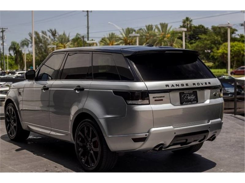 2014 land rover range rover sport for sale gc 19186 gocars. Black Bedroom Furniture Sets. Home Design Ideas