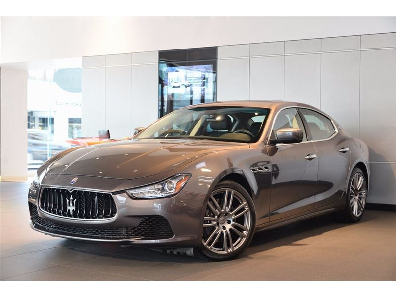 2015 maserati ghibli for sale gc 19604 gocars. Black Bedroom Furniture Sets. Home Design Ideas