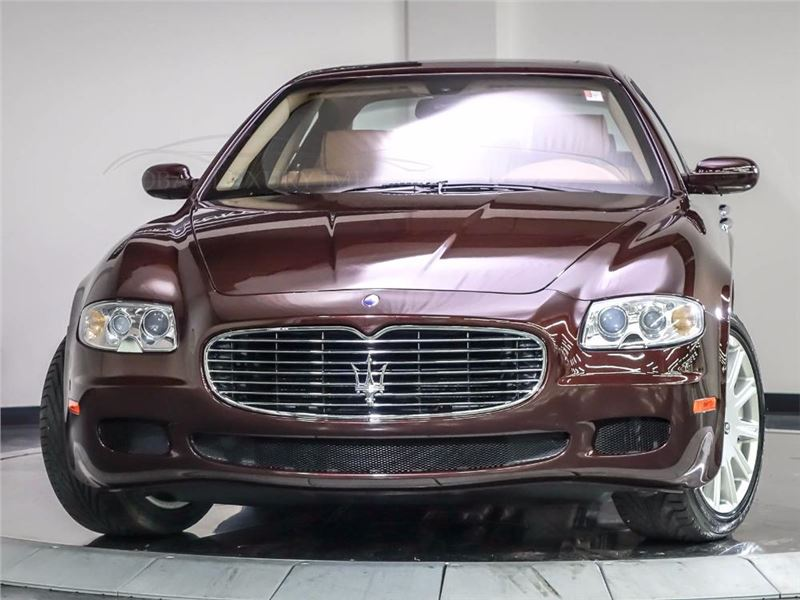 2007 maserati quattroporte for sale gc 19571 gocars. Black Bedroom Furniture Sets. Home Design Ideas