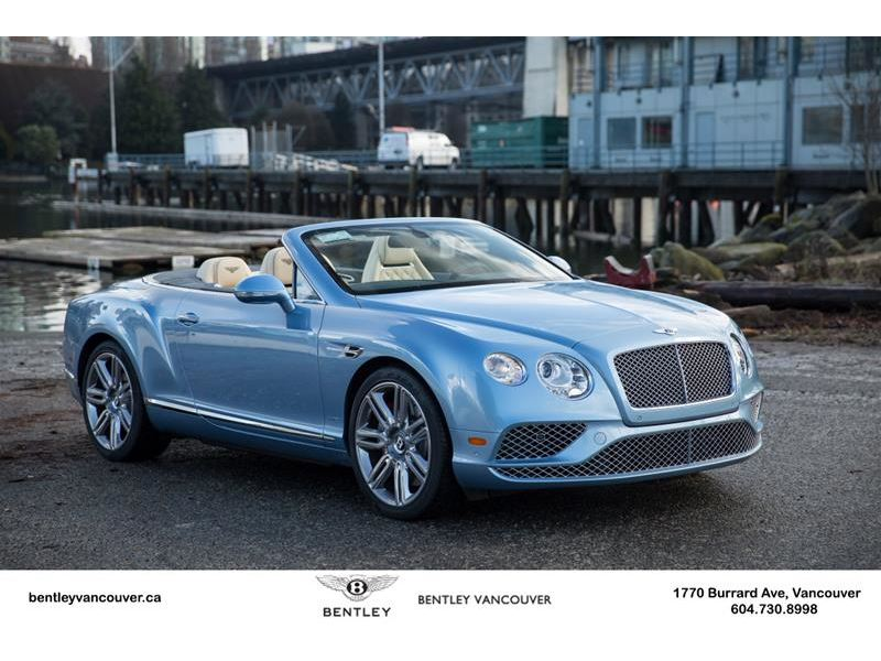 2016 bentley continental gt convertible for sale gc 20657 gocars. Black Bedroom Furniture Sets. Home Design Ideas