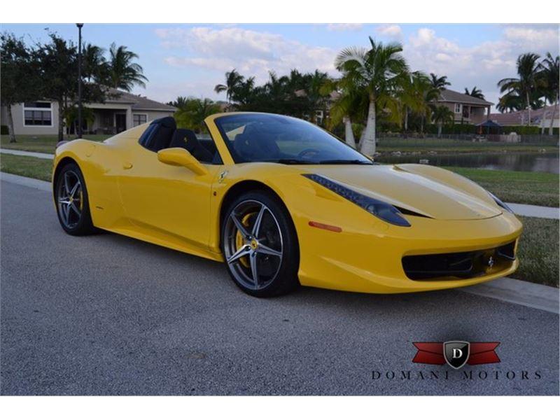 2015 Ferrari 458 Italia for sale in Deerfield Beach, Florida 33441