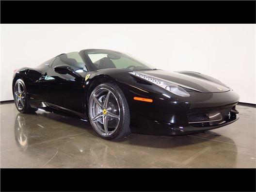 2015 Ferrari 458 Spider for sale in Plano, Texas 75093