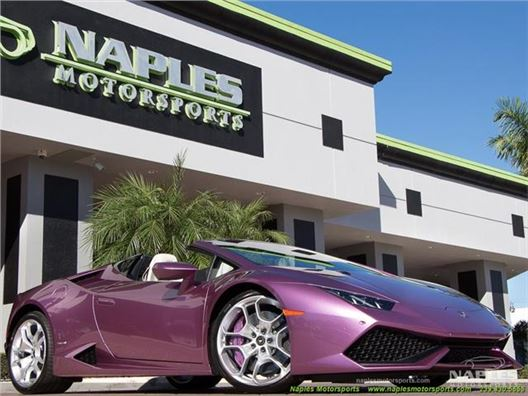 2017 Lamborghini Huracan for sale in Naples, Florida 34104