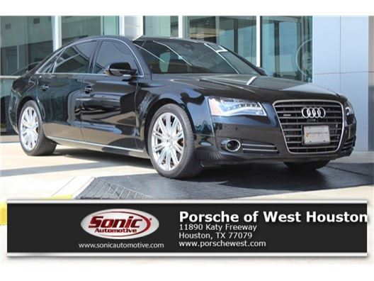 2014 Audi A8 L for sale in Houston, Texas 77079