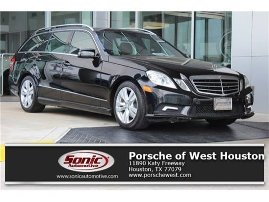 2011 Mercedes-Benz E-Class for sale in Houston, Texas 77079