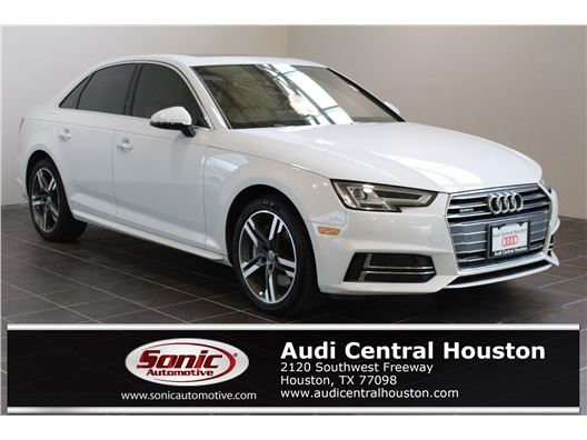 2017 Audi A4 for sale in Houston, Texas 77079