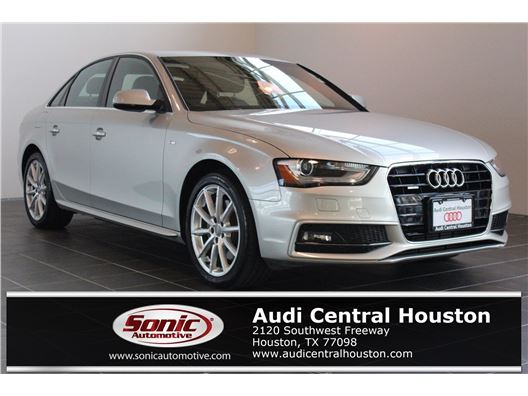 2014 Audi A4 for sale in Houston, Texas 77079
