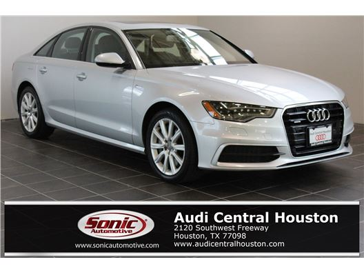 2014 Audi A6 for sale in Houston, Texas 77079