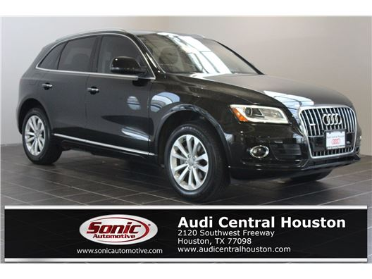 2015 Audi Q5 for sale in Houston, Texas 77079