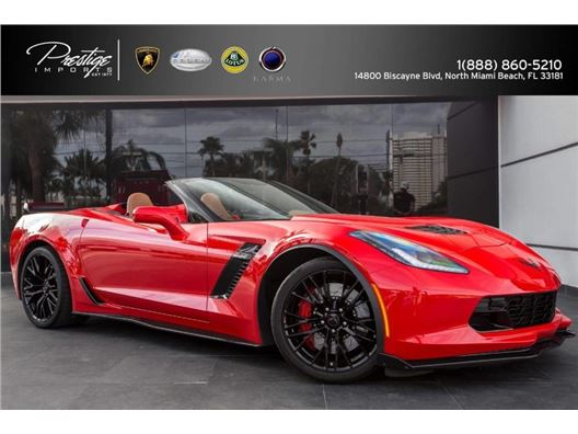 2016 Chevrolet Corvette for sale in North Miami Beach, Florida 33181
