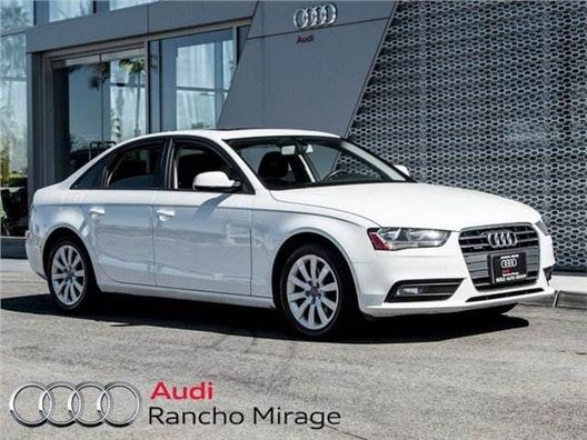 2014 Audi A4 for sale in Rancho Mirage, California 92270