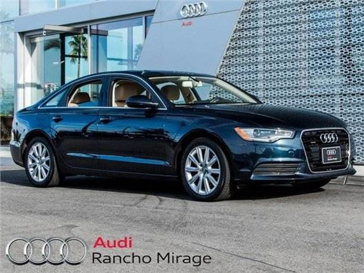 2013 Audi A6 for sale in Rancho Mirage, California 92270