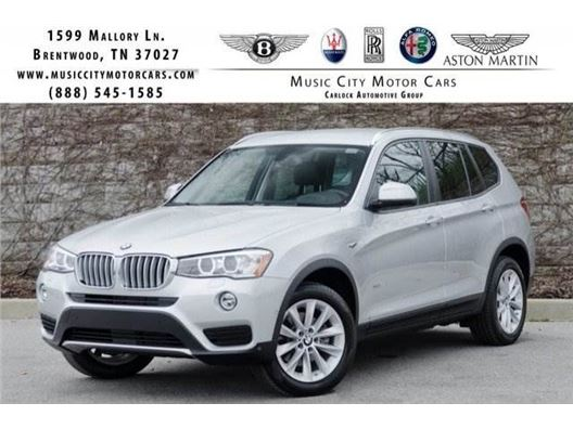 2017 BMW X3 for sale in Franklin, Tennessee 37067