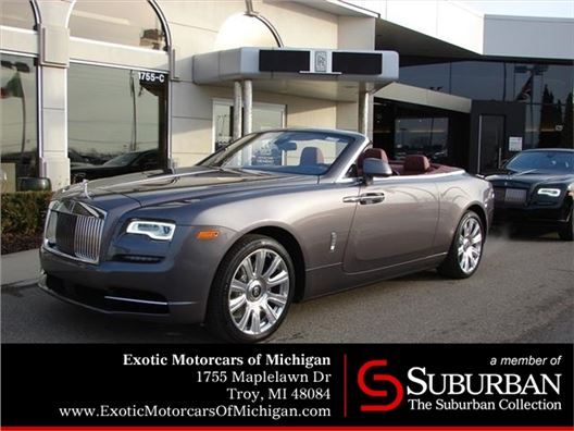 2017 Rolls-Royce Dawn for sale in Troy, Michigan 48084