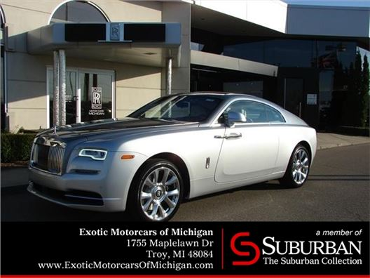 2017 Rolls-Royce Wraith for sale in Troy, Michigan 48084