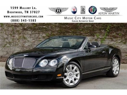 2007 Bentley Continental GT for sale in Franklin, Tennessee 37067