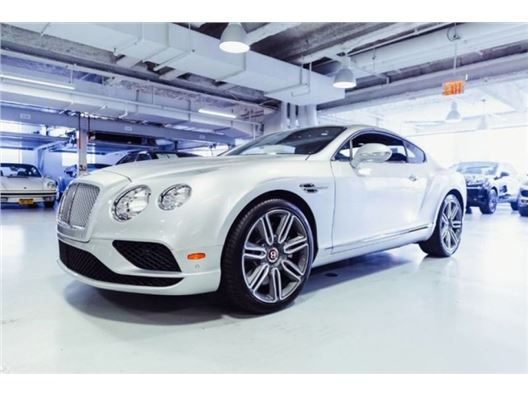 2017 Bentley Continental for sale in New York, New York 10019