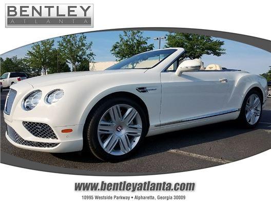 2017 Bentley Continental for sale in Alpharetta, Georgia 30009