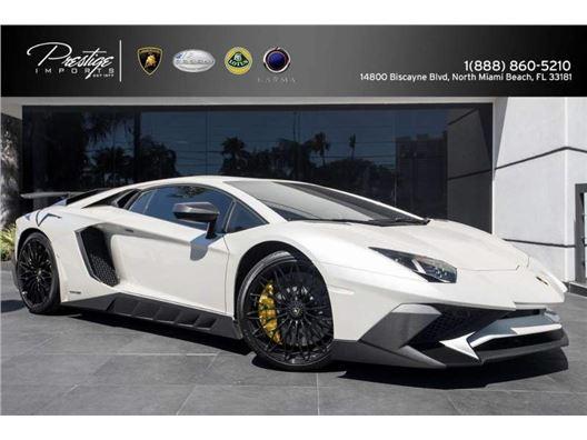 2016 Lamborghini Aventador for sale in North Miami Beach, Florida 33181
