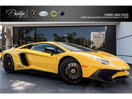 2016 Lamborghini Aventador for sale in North Miami Beach, Florida 33181