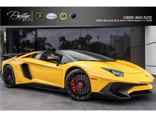 2017 Lamborghini Aventador SuperVeloce for sale in North Miami Beach, Florida 33181