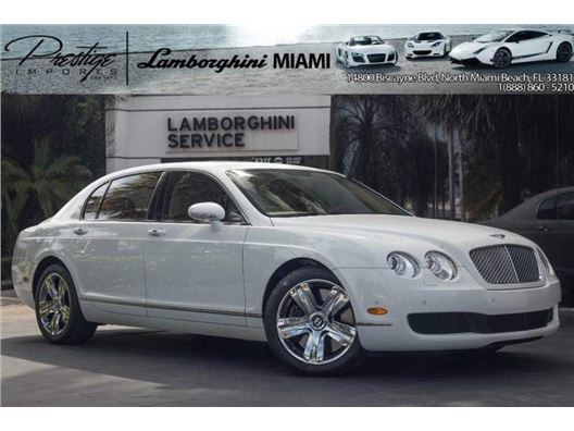 2007 Bentley Continental Flying Spur for sale in North Miami Beach, Florida 33181