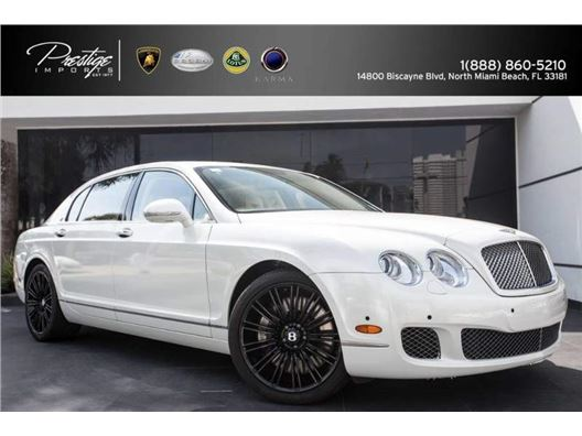 2012 Bentley Continental Flying Spur for sale in North Miami Beach, Florida 33181