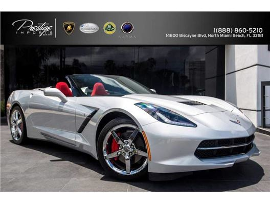 2014 Chevrolet Corvette Stingray for sale in North Miami Beach, Florida 33181