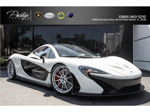 2014 McLaren P1 Plug-In Hybrid for sale in North Miami Beach, Florida 33181