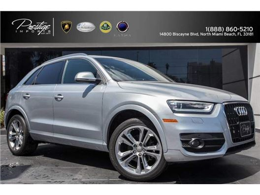 2015 Audi Q3 for sale in North Miami Beach, Florida 33181