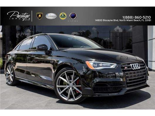 2016 Audi S3 for sale in North Miami Beach, Florida 33181