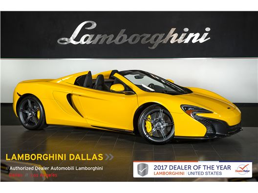 2015 McLaren 650S for sale in Richardson, Texas 75080