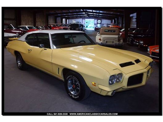 1972 Pontiac GTO for sale in Sarasota, Florida 34232