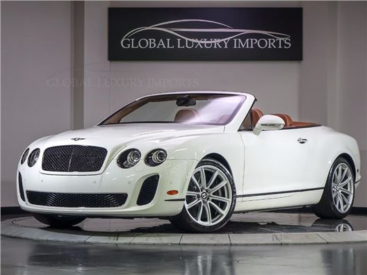 2011 Bentley Continental Supersports for sale in Burr Ridge, Illinois 60527
