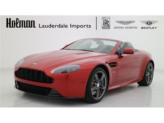 2016 Aston Martin V8 Vantage for sale in Fort Lauderdale, Florida 33304