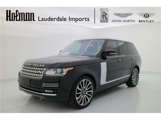 2017 Land Rover Range Rover for sale in Fort Lauderdale, Florida 33304