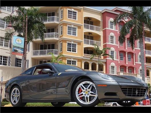 2007 Ferrari 612 Scaglietti F1 for sale in Naples, Florida 34104
