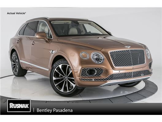 2017 Bentley Bentayga for sale in Pasadena, California 91105