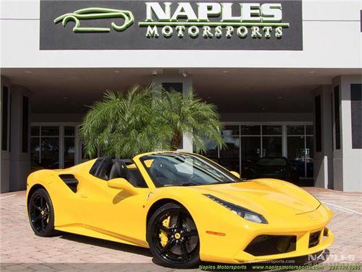 2016 Ferrari 488 Spider for sale in Naples, Florida 34104