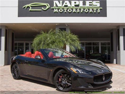 2016 Maserati Gran Turismo MC Convertible for sale in Naples, Florida 34104