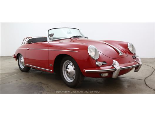 1962 Porsche 356B T6 Twin Grille Roadster for sale in Los Angeles, California 90063