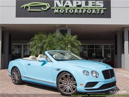 2016 Bentley Continental GTC V8 S for sale in Naples, Florida 34104