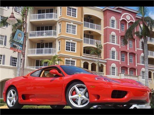 2001 Ferrari 360 Modena Coupe for sale in Naples, Florida 34104