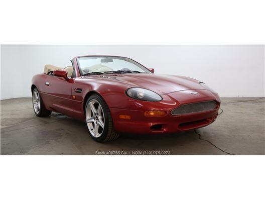 1998 Aston Martin DB7 Volante for sale in Los Angeles, California 90063