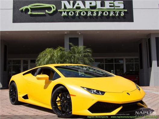 2015 Lamborghini Huracan LP 610-4 for sale in Naples, Florida 34104