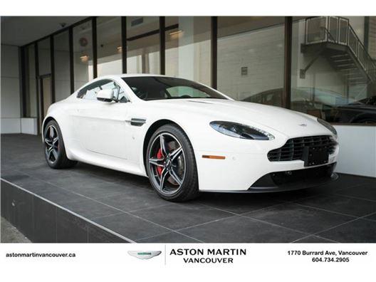 2016 Aston Martin V8 Vantage for sale in Vancouver, British Columbia V6J 3G7 Canada