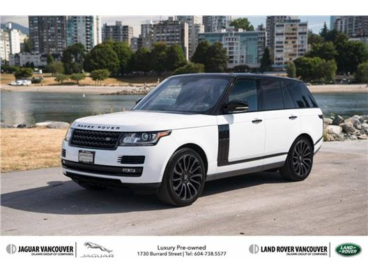 2016 Land Rover Range Rover for sale in Vancouver, British Columbia V6J 3G7 Canada