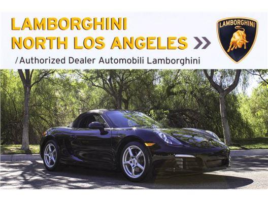 2014 Porsche Boxster Spyder for sale in Calabasas, California 91302